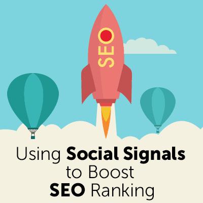 Boost SEO Rank using Social Signals