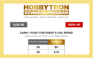 HobbyTron loyalty program case study