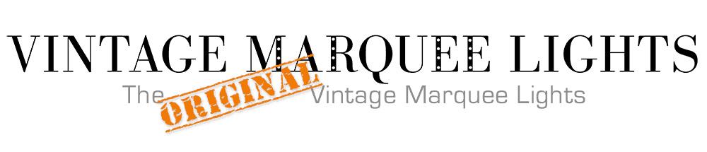 Vintage Marquee Lights