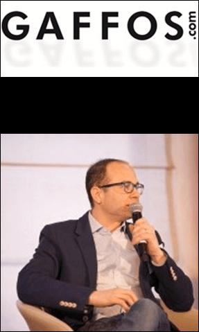 Jonathan Muller, CEO gaffos - Zinrelo Client
