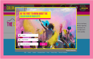 Referral program - Color run case study