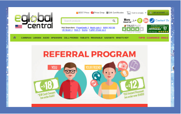 Referral program - eGlobal central case study