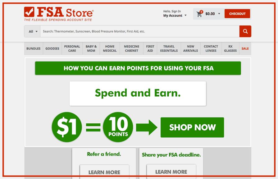 FSA Store Loyalty Rewards Program_Zinrelo